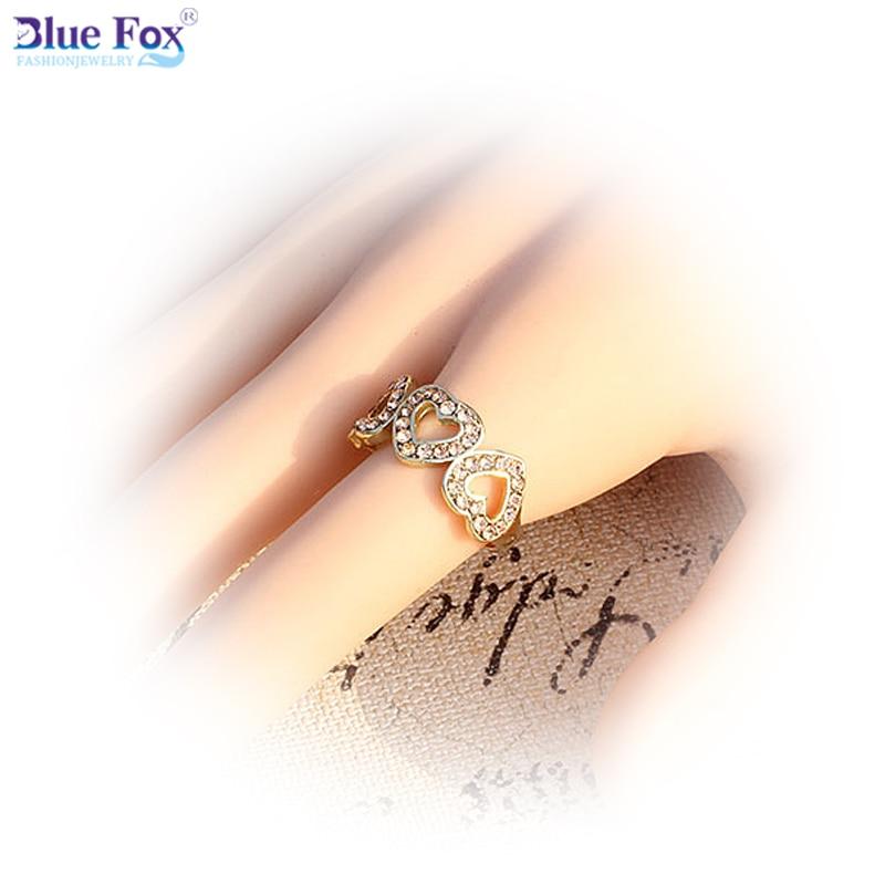 Blue Fox 2015 Fashion Jewelry Vintage Design Rhinestones Romantic