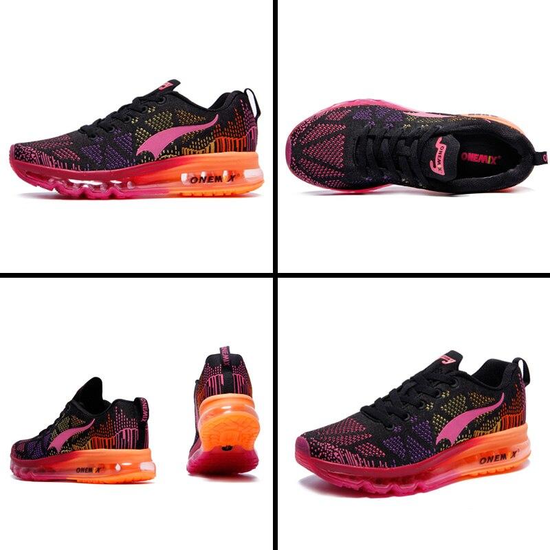 ONEMIX Air course chaussures pour hommes femmes 97 respirant maille athlétique plein Air Jogging baskets Max 12.5 - 3