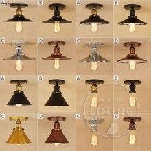 Лофт винтажные потолочные светильники Lamparas De Techo Lustre Luminaria Abajur комнатная потолочная лампа освещение Промышленное освещение для гостиной