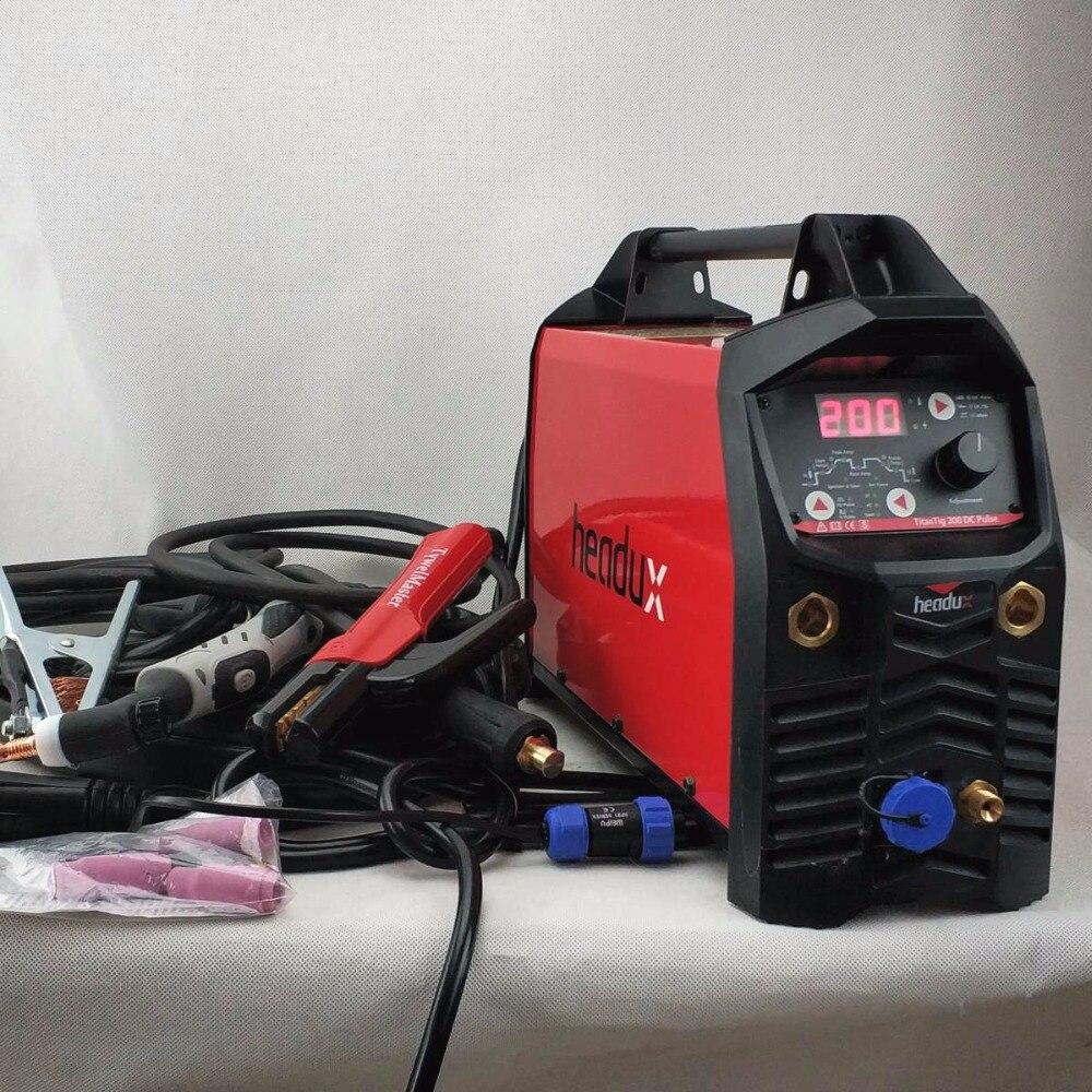 Цифровой TIG сварочный аппарат 200A DC импульсный CE утвержденный БТИЗ инвертор газовольфрамовой сварки/MMA Сварочное оборудование