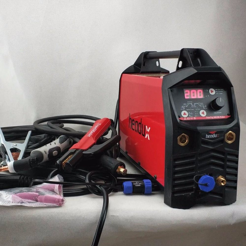Digital TIG Welding Machine 200A DC Pulse CE Approved IGBT Inverter TIG/MMA Welding Equipment цены