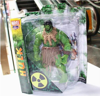 MAVEL Select AMERICAN HERO The Avengers The barbarians type NEW Hulk Action Figures Toy HK002
