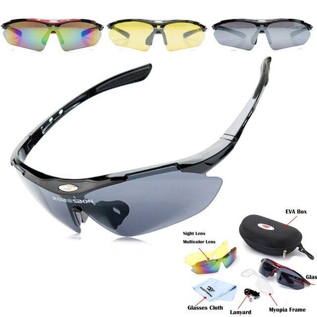 aa06c01dab302e Sport Bril Road Fietsen Eyewear Fiets Glas MTB Mountainbike Fiets Rijden  Vissen Zonnebril Goggles 3 lens