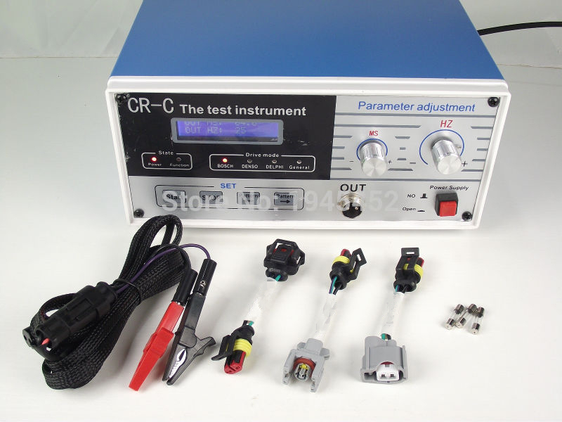 DHL Free shipping and High quality CR C multifunction diesel common rail injector tester tool diesel