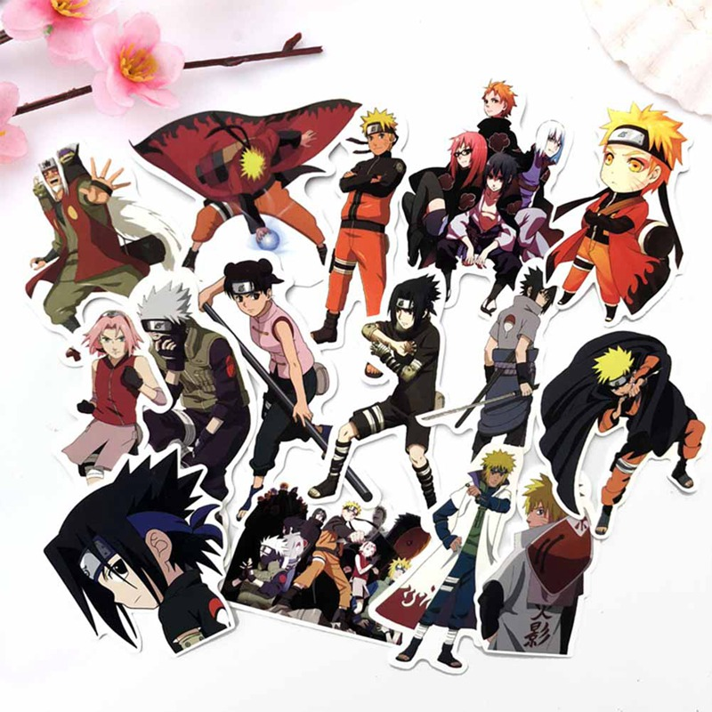 Friendly 63pcs/set Japan Anime Sticker Waterproof Pvc Stationery Stickers For Laptop Car Skateboard Guitar Backpack Phone Discounts Sale