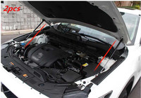 2pcs For 2017 2018 mazda cx 5 cx5 KF 2nd refit front hood Engine cover Hydraulic rod Strut spring shock Bar