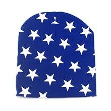 Winter Autumn Baby Hat Girl Boy Cap Unisex Beanie Print Stars Infant Cotton Hat 10 Colors