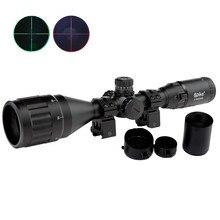 3-9X50AOL Polowania Lunety Celownicze Zielona Optyka Tactical Airsoft Pistolety Powietrza/Czerwona Kropka Illuminated Sniper Rifle Pistol Reflex Sight
