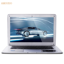 Amoudo-6C 8GB RAM+64GB SSD+500GB HDD 14inch 1920*1080 FHD Windows 7/10 System Quad Core Ultrathin Laptop Notebook Computer