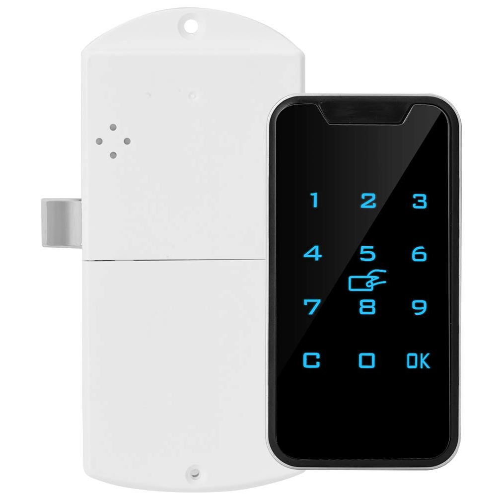 953M1 Digital Touch Keypad Battery Powered Universal Wardrobes Smart Password Lock Cabinet Durable Electronic Security Drawers