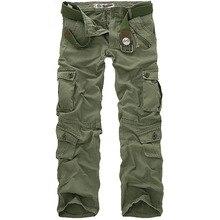 Для мужчин четыре сезона Тактический военно-спортивный Пеший Туризм брюки мужские на открытом воздухе мульти-карманы Ветрозащитный Кемпинг походы брюки карго