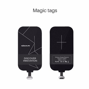 Image 1 - Universal Qi Wireless Charger Receiver Charging Nillkin Magic Tags Micro USB / Type C Adapter For iphone 5 5S SE 6 6S 7 Plus
