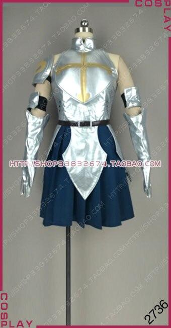 Fairy Tail: Дракон Cry s класс маг команды Нацу Эрза Скарлет Щепка голубое платье Косплэй костюм S002