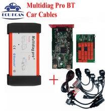 Multi Diag Же Как MVDIAG Tcs CDP Multidiag Pro Bluetooth V2015.01 Свободного Активного MultiDiag Pro + 4 ГБ TF Карта + Автомобиль кабели