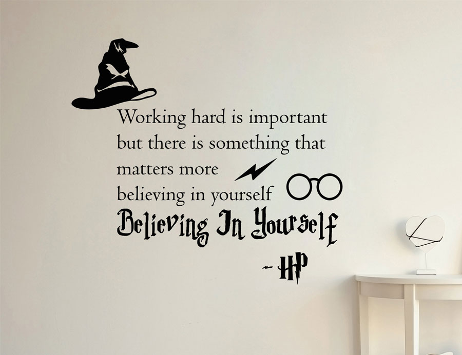 Harry Potter Hermione Granger We Can Do It  Vinyl Wall Decal Room Decor Sticker