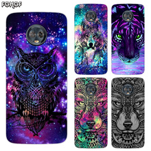 Silicone Hull Shell Back Case For Motorola MOTO G5 G5S G6 E4 E5 Plus G4 Play X4 Riverdale Cover All Star Animals