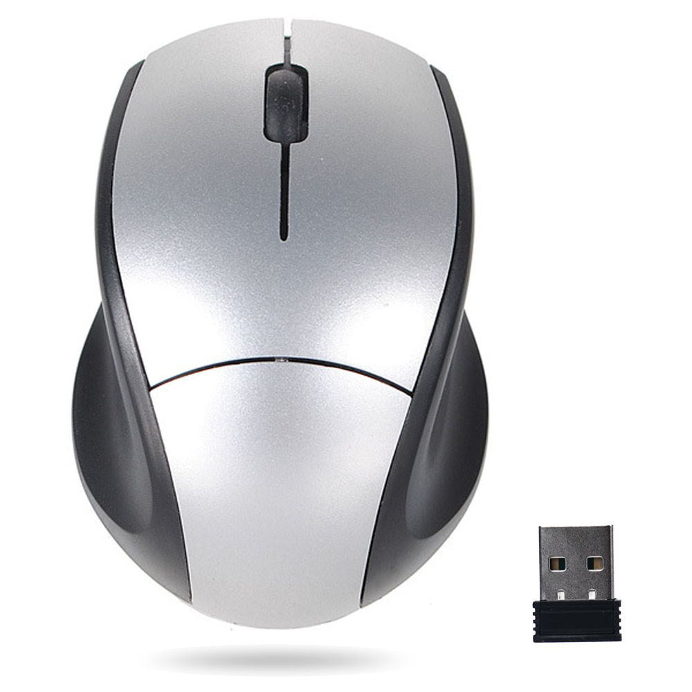 2.4GH Optical Mouse Wireless USB Receiver 10 Meters Receiving Range Mute Gaming Mouse For PC Wireless Laptop #10