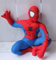 Crianças brinquedo de pelúcia crianças boneca de pelúcia brinquedos do bebê dos desenhos animados spiderman heróis fabricantes atacado presente de aniversário
