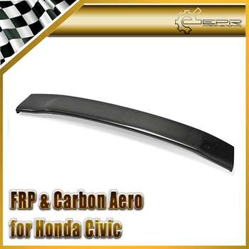 Car-styling For Honda 8th Gen Civic SI Mugen Style Carbon Fiber Rear Spoiler Blade(Civic FA USDM Only) In Stock