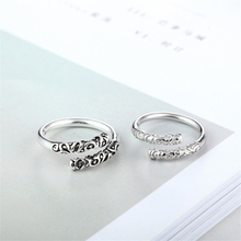 New arrival Promotion Price 925 Sterling Sliver Adjustable Rings Ancient Totem Graduation Friendship Vintage Unix Men KJZ0134