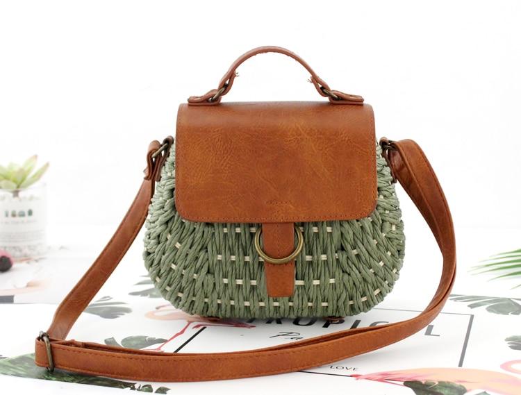 Bolsa de Palha Vintage