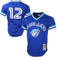 Roberto Alomar Toronto Blue Jays Cooperstown Collection Mesh Batting Practice Jersey Royal Blue