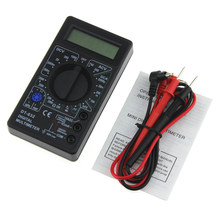 Mini DT832 Numérique Multimètre LCD DC AC Voltmètre Ampèremètre Ohm Testeur AC/DC Tension Numérique Ampère Power Meter Test(China)