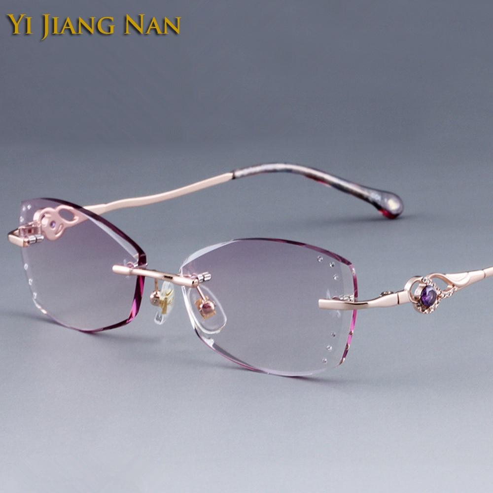 يي جيانغ نان ماركة الماس قلصت بدون شفة - ملابس واكسسوارات