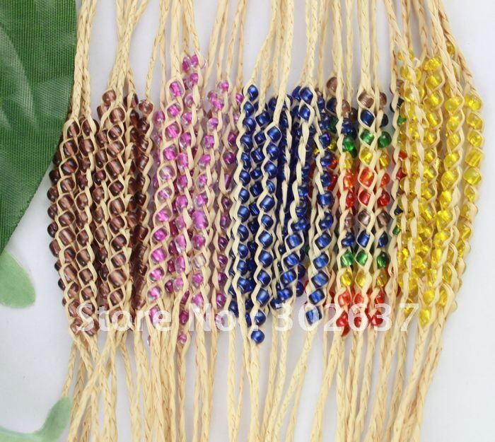 30pcs Mixed Colours Braided Raffia Wish Bracelets 21621 In Charm From Jewelry Accessories On Aliexpress Alibaba Group