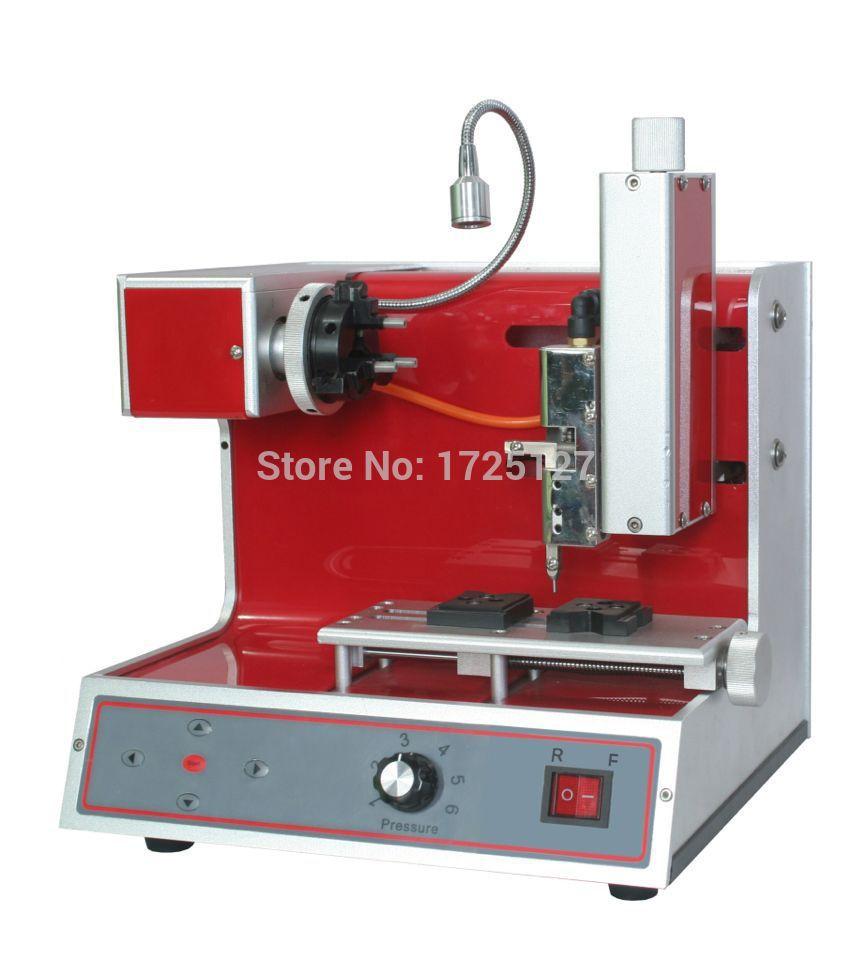 Outil de gravure numérique d'opération flexible d'orfèvre, machine de taille d'anneau, machine de gravure de bracelets CNC, machine de gravure plate