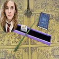 2017 12pcs/set New Collectable Top Quality Harry Potter Series Magic Wand With Gift Box Cosplay Game Prop Metal Core Toy Stick