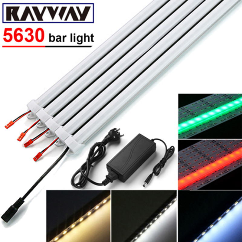 LED Strip Light Bar DC12V 36 leds SMD 5630 Hard Rigid LED Strip Light with U