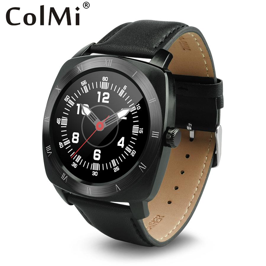 Prix pour ColMi Smart Watch VS70 Ultra-mince 12mm Horloge Étanche IP53 Coeur Taux Tracker Bluetooth Musique Passometer MTK2502C Smartwatch