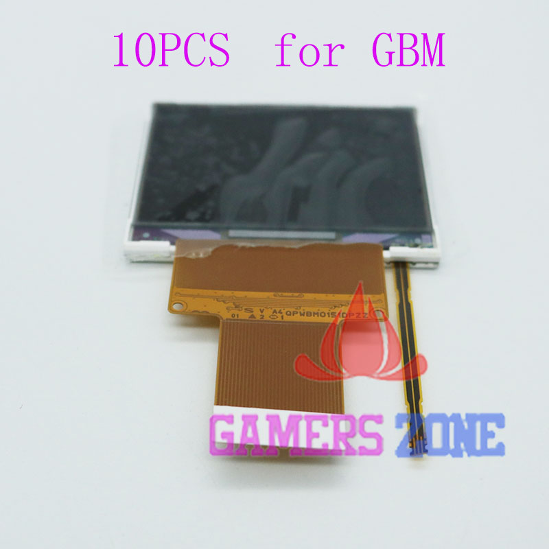 10PCS For Nintendo GBM Replacement LCD Screen Unit for Gameboy Micro