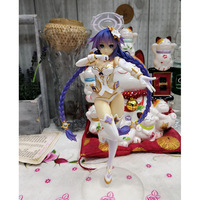 25cm Electric shock limit Neptuneu Neptune Four goddess Purple heart Action figure toys doll Christmas gift