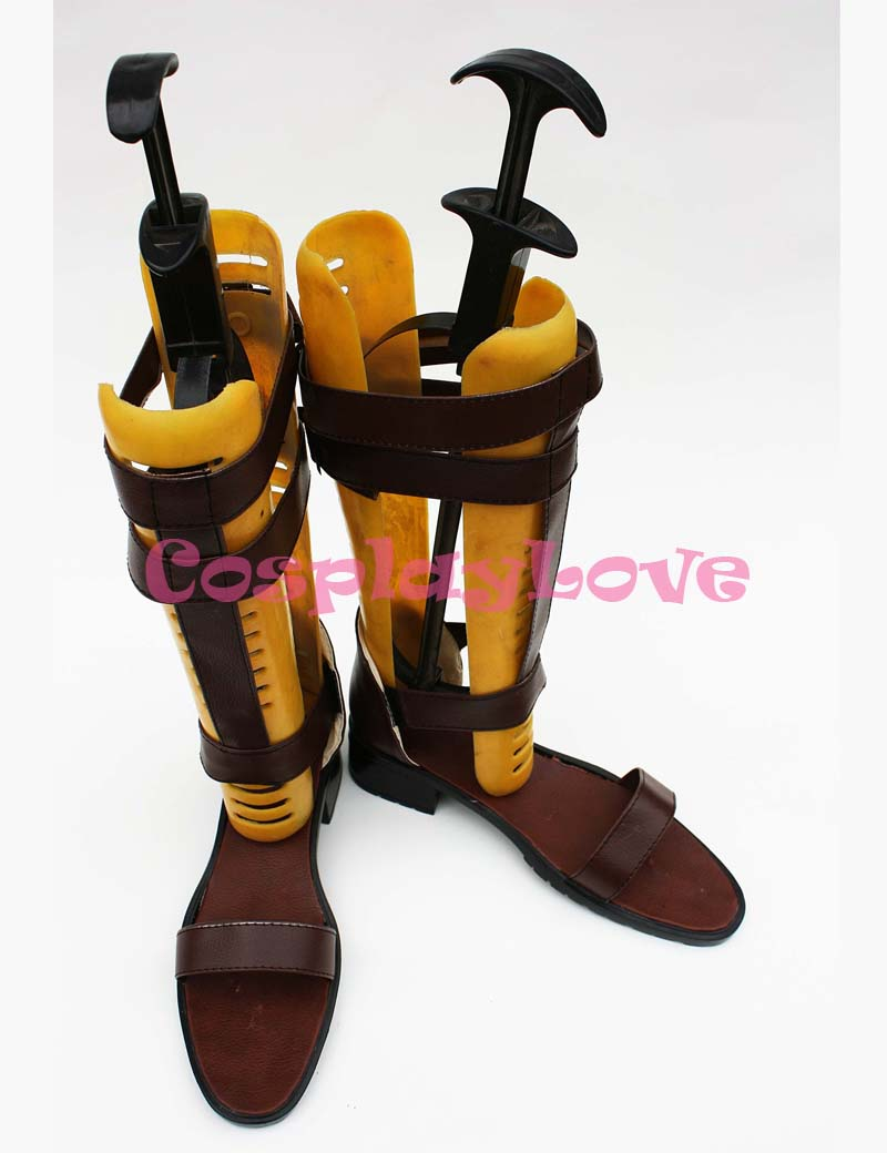 Game Unlight Loups Garous Sprout Cosplay Shoes Boots Hand Made Custom made  For Halloween Christmas Festival CosplayLove-in Shoes from Novelty &  Special Use ...