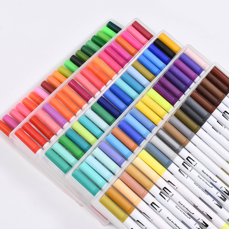 markers for drawing school supplies watercolor brush pen Art