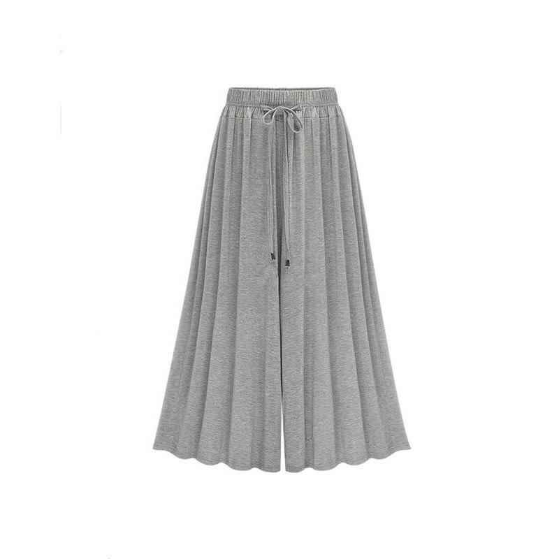 Gray wide leg long trousers women   capri     pants   hip hop women boho broeken dance   pants   loose   pants   pantalon broeken hippie   pants