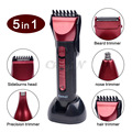 Kemei 230V 5-in-1 Multifunction High Protection Class (IPX 7S) Electric/Wireless Hair Clipper Razor Hair Trimmer RCS60RQ -0.45WY