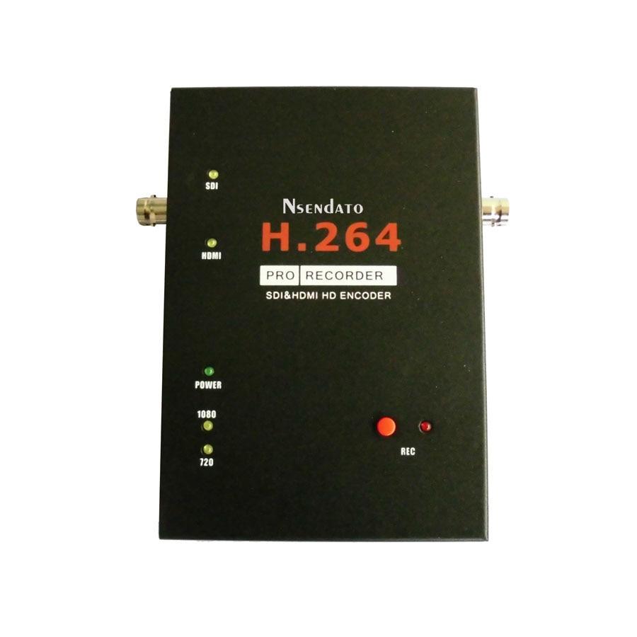 1080P SDI HDMI 3G Video Capture Card H 264 Pro HDMI Recorder Box With Remote Control
