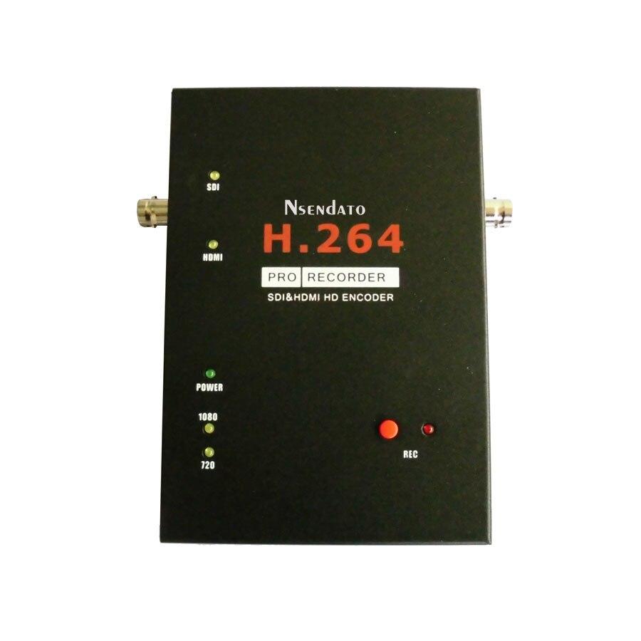 1080 p SDI HDMI 3g Carte de Capture Vidéo H.264 Pro Enregistreur HDMI Avec prise en Charge De la Télécommande USB SD disque SDI HD Encodeur