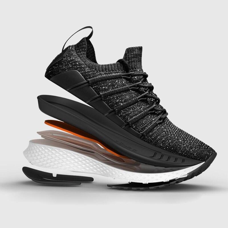En Stock Xiaomi Mijia smart Sneaker deportes 2 uni-molde Techinique nuevo sistema de bloqueo de Fishbone elástico de punto Vamp para hombre - 2