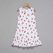 Summer Mother Daughter Fruit Printed Matching Dresses
