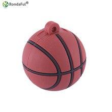 2016 Usb Flash Drive 64 ГБ 32 ГБ 16 ГБ Ball Pen Drive 4 ГБ 8 ГБ Спорт pendrive 32 ГБ стритбол memory stick u диск Баскетбол модель