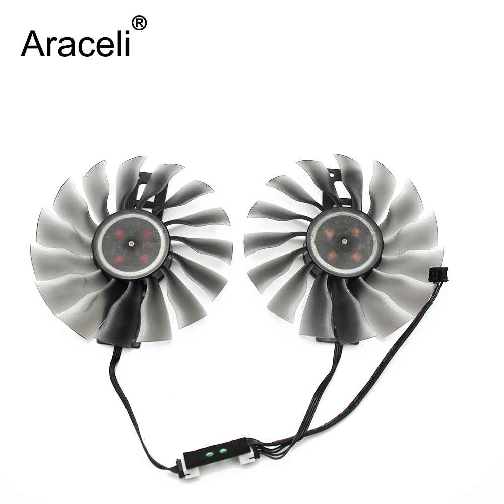 100MM FD10015H12S GTX1080/1070 ti GPU VGA Card Cooler Fan for