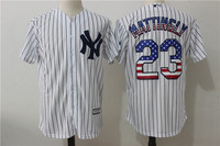 MLB Men S New York Yankees 23 MATTINGLY Icons Player Jersey Baseball Jersey MLB Jersey Free