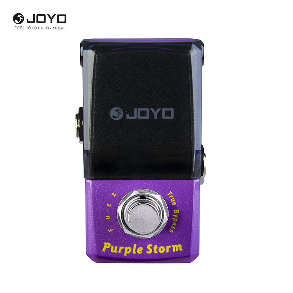 JOYO JF-320 IRONMAN Series Electric Guitar Mini Effect Pedals Purple Storm Fuzz Pedal human larynx model advanced anatomical larynx model