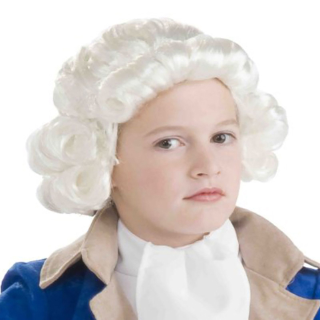 Silver White Boyu0027s Historical Colonial Costume Headwear Founding Father Patriotic Costume Little Prince Kids Baroque Fancy  sc 1 st  AliExpress.com & Silver White Boyu0027s Historical Colonial Costume Headwear Founding ...