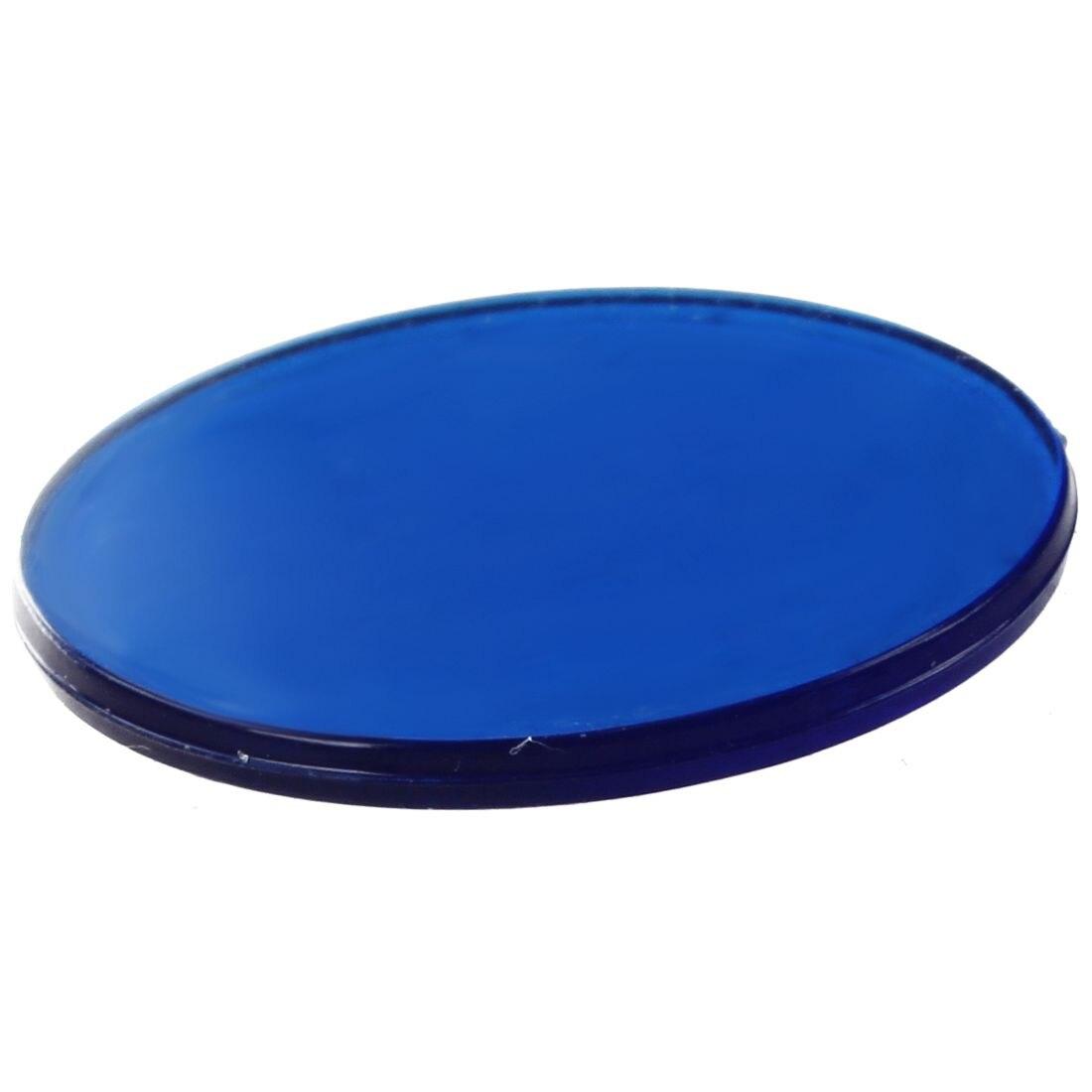 Approx.100pcs 3/4 дюйма Пластик Бинго, полупрозрачные Дизайн, для аудитории и карнавал Бинго игры синий