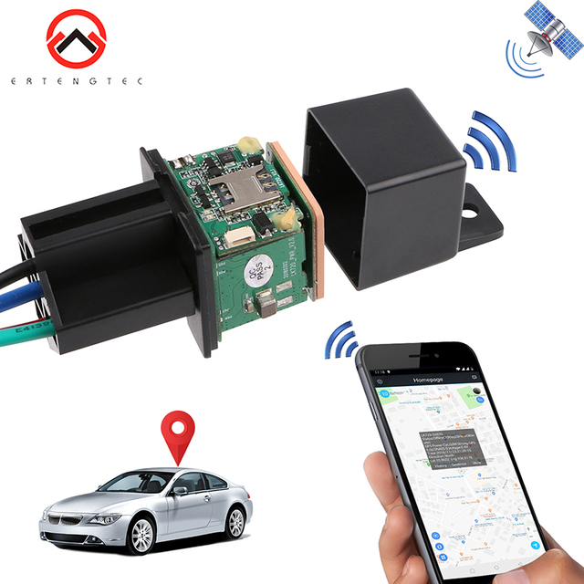 Relay GPS Tracker 2G/GSM GPS Tracker Shock Alarm GPS GSM Locator Tracking Device Remote Cut Off Oil Power Anti-theft Monitoring